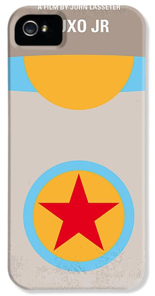 Computer iPhone 5 Cases - No171 My LUXO JR minimal movie poster iPhone 5 Case by Chungkong Art