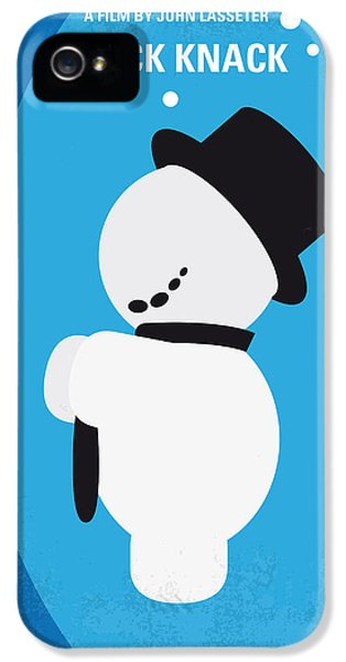 Computer iPhone 5 Cases - No172 My Knick Knack minimal movie poster iPhone 5 Case by Chungkong Art