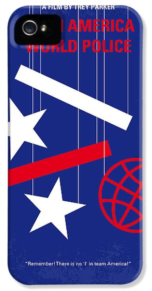 Il iPhone 5 Cases - No475 My Team America minimal movie poster iPhone 5 Case by Chungkong Art