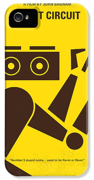 No470 My Short Circuit Minimal Movie Poster IPhone 5 / 5s Case by Chungkong Art