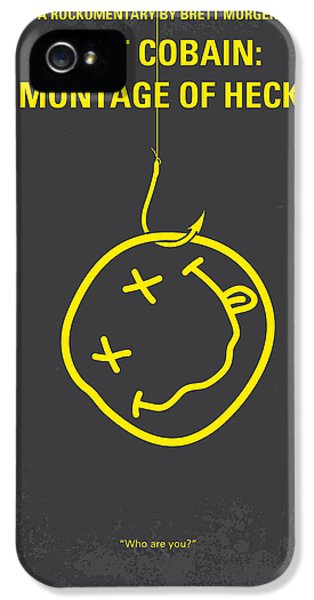 Grunge Style iPhone 5 Cases - No448 My Montage of Heck minimal movie poster iPhone 5 Case by Chungkong Art