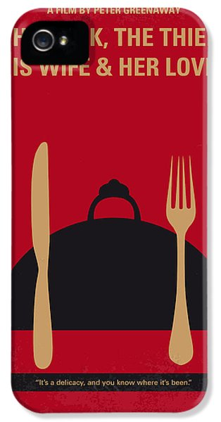 Wife iPhone 5 Cases - No486 My The Cook the Thief His Wife and Her Lover minimal movie iPhone 5 Case by Chungkong Art