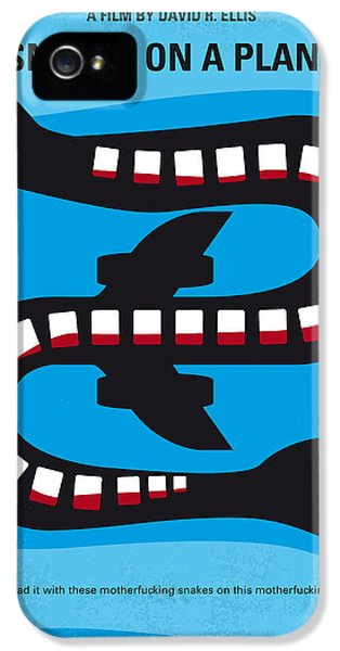 No501 My Snakes On A Plane Minimal Movie Poster IPhone 5 / 5s Case by Chungkong Art
