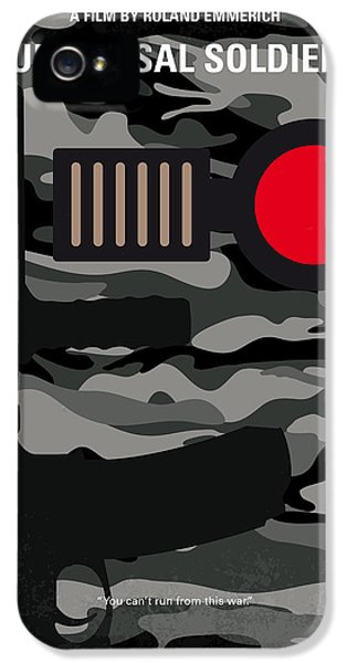 No523 My Universal Soldier Minimal Movie Poster IPhone 5 / 5s Case by Chungkong Art