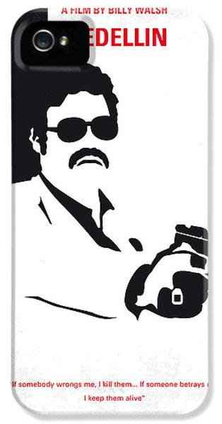 Drug iPhone 5 Cases - No526 My MEDELLIN minimal movie poster iPhone 5 Case by Chungkong Art