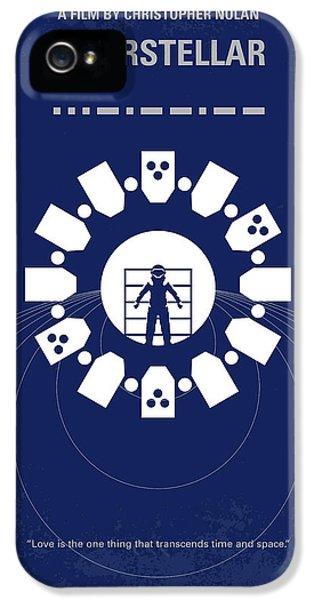 No532 My Interstellar Minimal Movie Poster IPhone 5 / 5s Case by Chungkong Art