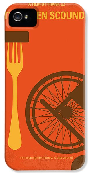 Dirty iPhone 5 Cases - No536 My Dirty Rotten Scoundrels minimal movie poster iPhone 5 Case by Chungkong Art