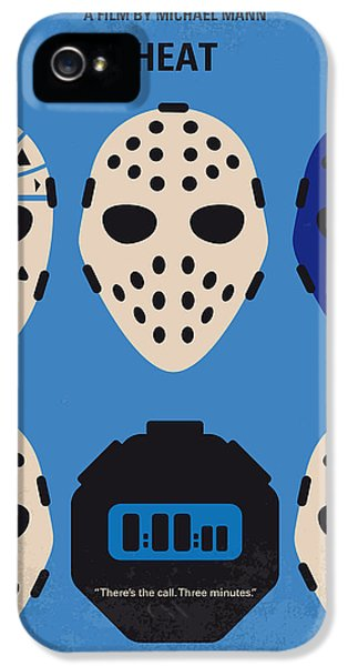 No621 My Heat Minimal Movie Poster IPhone 5 / 5s Case by Chungkong Art