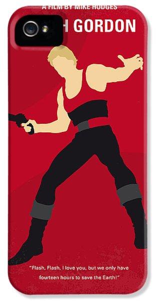 No632 My Flash Gordon Minimal Movie Poster IPhone 5 / 5s Case by Chungkong Art