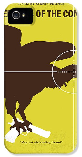 No659 My Three Days Of The Condor Minimal Movie Poster IPhone 5 / 5s Case by Chungkong Art