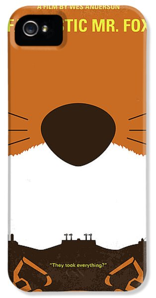 No673 My Fantastic Mr Fox Minimal Movie Poster IPhone 5 / 5s Case by Chungkong Art