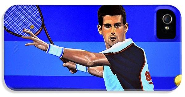 Novak Djokovic IPhone 5 / 5s Case by Paul Meijering