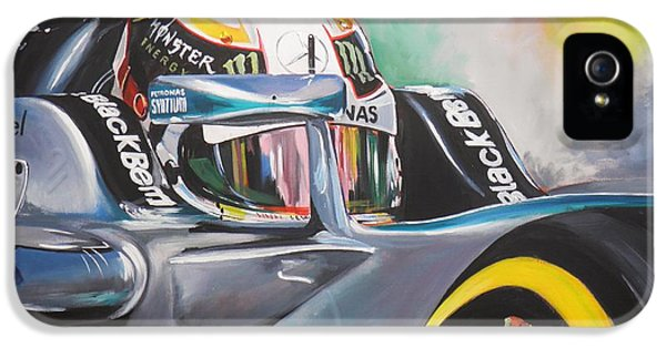 Formula One World Champion iPhone 5 Cases - Number One iPhone 5 Case by Terence R Rogers