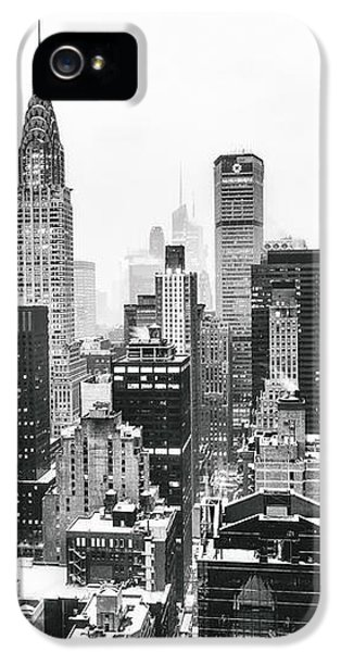 Nyc Snow IPhone 5 / 5s Case by Vivienne Gucwa