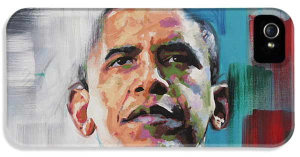 Obama IPhone 5 / 5s Case by Richard Day