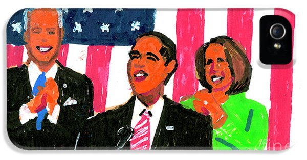 Obama's State Of The Union '10 IPhone 5 / 5s Case by Candace Lovely