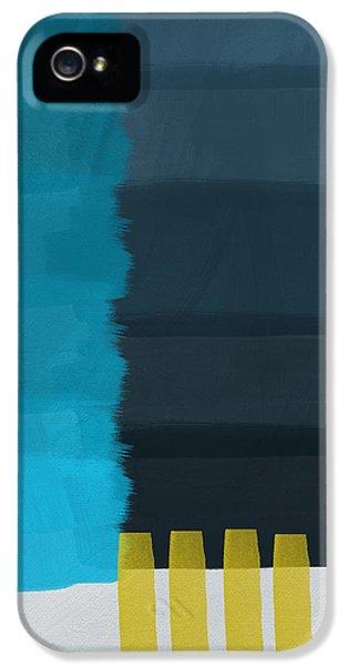 Ocean Front Walk- Art By Linda Woods IPhone 5 / 5s Case by Linda Woods