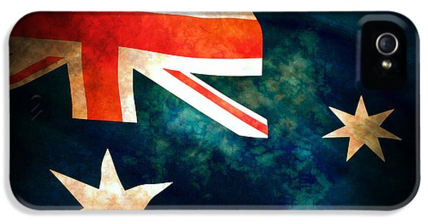 History iPhone 5 Cases - Old Australian Flag iPhone 5 Case by Phill Petrovic
