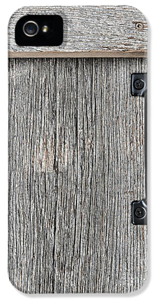 Old Barn Wood Door IPhone 5 / 5s Case by Elena Elisseeva