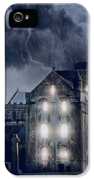 Thriller iPhone 5 Cases - Old Church iPhone 5 Case by Joana Kruse