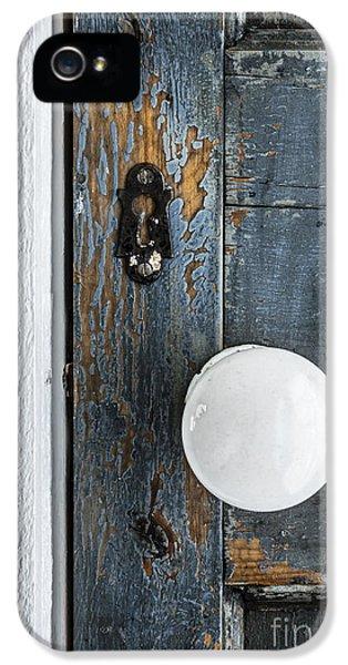 Old Door Fragment IPhone 5 / 5s Case by Elena Elisseeva