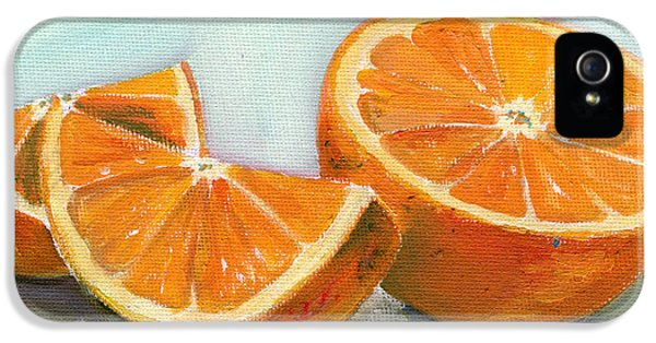 Orange iPhone 5 Cases - Orange iPhone 5 Case by Sarah Lynch