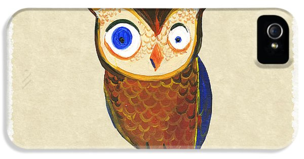 Owl IPhone 5 / 5s Case by Kristina Vardazaryan