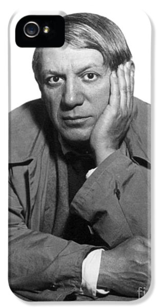 1930s iPhone 5 Cases - Pablo Picasso (1881-1973) iPhone 5 Case by Granger