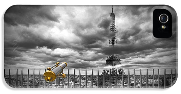 Paris Composing IPhone 5 / 5s Case by Melanie Viola