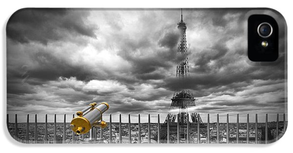 Sight iPhone 5 Cases - PARIS Composing iPhone 5 Case by Melanie Viola