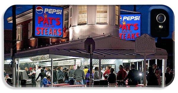 Philadelphia iPhone 5 Cases - Pats Steaks iPhone 5 Case by John Greim