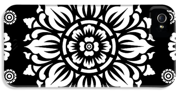 Pattern Art 01-1 IPhone 5 / 5s Case by Bobbi Freelance