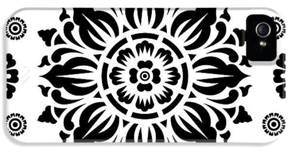 Pattern Art 01-2 IPhone 5 / 5s Case by Bobbi Freelance