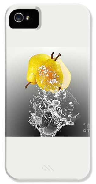 Pear Splash Collection IPhone 5 / 5s Case by Marvin Blaine