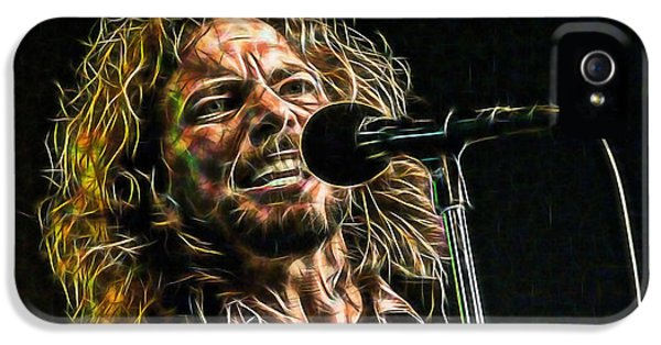 Pearl Jam Eddie Vedder Collection IPhone 5 / 5s Case by Marvin Blaine
