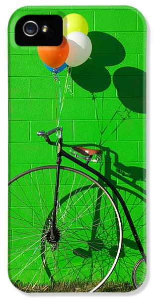 Penny Farthing Bike IPhone 5 / 5s Case by Garry Gay