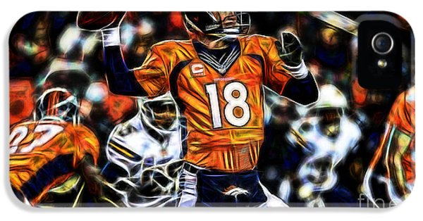 Peyton Manning Collection IPhone 5 / 5s Case by Marvin Blaine