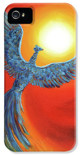 Phoenix Rising IPhone 5 / 5s Case by Laura Iverson