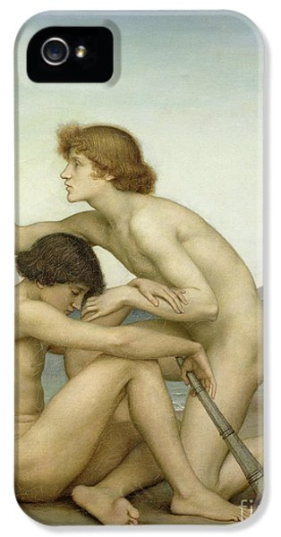 Gay iPhone 5 Cases - Phosphorus and Hesperus iPhone 5 Case by Evelyn De Morgan