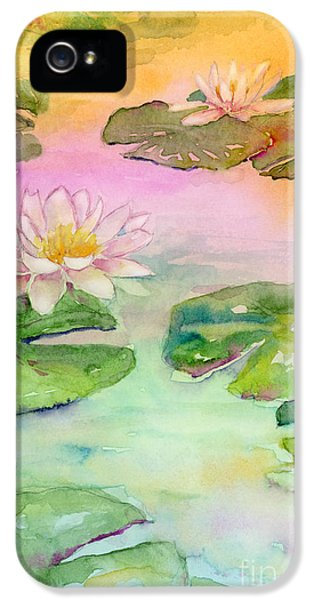 Pink Pond IPhone 5 / 5s Case by Amy Kirkpatrick