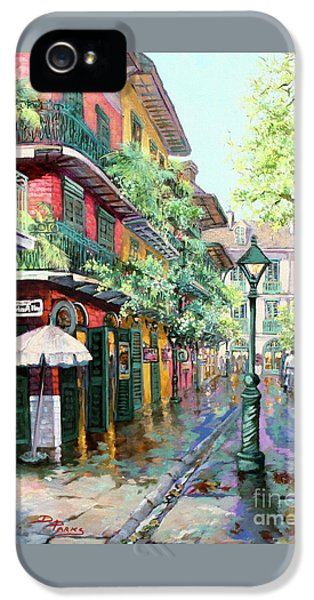 Pirates Alley - French Quarter Alley IPhone 5 / 5s Case by Dianne Parks