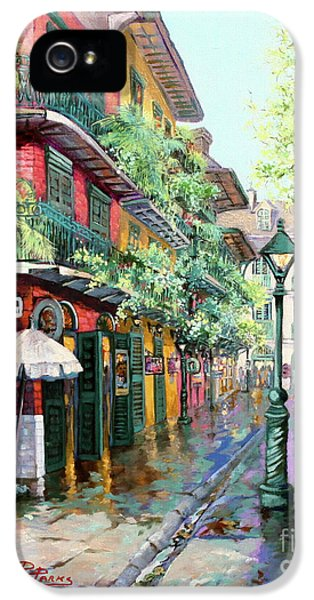 Street Scene iPhone 5 Cases - Pirates Alley iPhone 5 Case by Dianne Parks