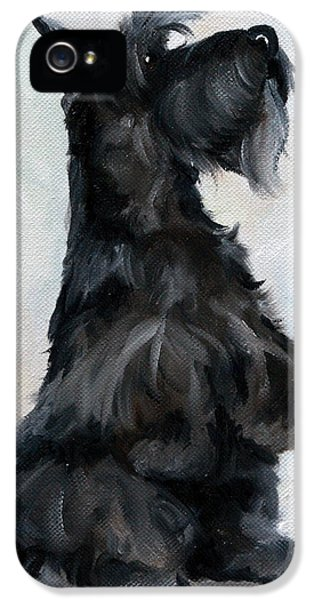 Scottie iPhone 5 Cases - Please iPhone 5 Case by Mary Sparrow