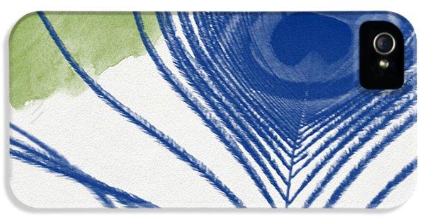 Plumage 3- Art By Linda Woods IPhone 5 / 5s Case by Linda Woods