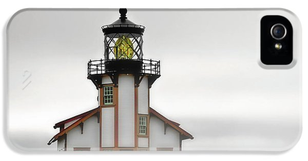Foghorn iPhone 5 Cases - Point Cabrillo Light Station - Mendocino CA iPhone 5 Case by Christine Till