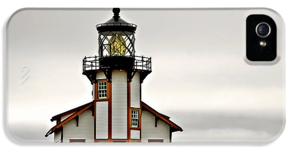 Foghorn iPhone 5 Cases - Point Cabrillo Lighthouse California iPhone 5 Case by Christine Till