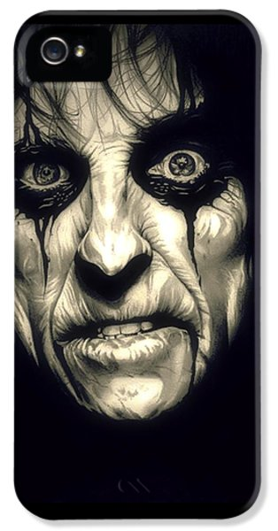 Poison Alice Cooper IPhone 5 / 5s Case by Fred Larucci