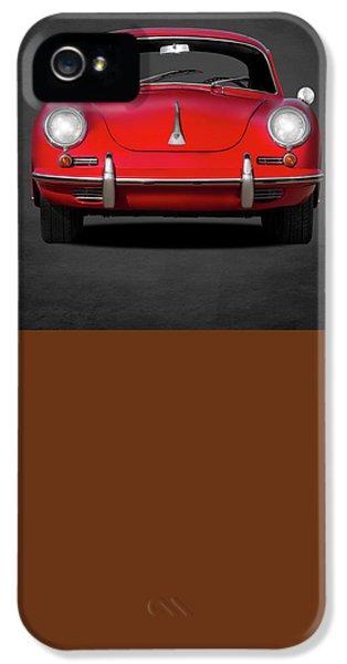 Sport iPhone 5 Cases - Porsche 356 iPhone 5 Case by Mark Rogan