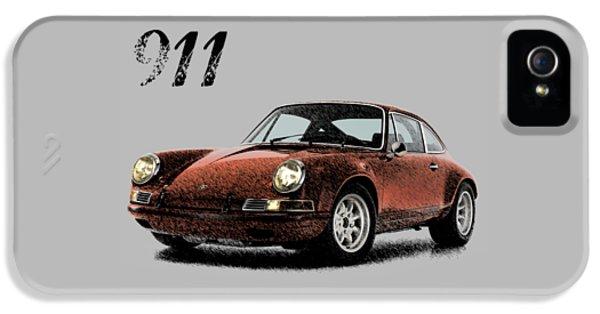 Porsche 911 iPhone 5 Cases - Porsche 911 ST 1970 iPhone 5 Case by Mark Rogan