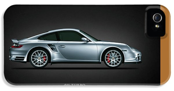 German Classic Cars iPhone 5 Cases - Porsche 911 Turbo iPhone 5 Case by Mark Rogan